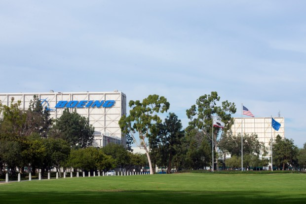 "The Boeing campus in North Huntington Beach, ""dubbed Amazon sand,"" features 500,000 square feet of office space as well as a 164-acre campus that can be developed to suit Amazon's needs.(Photo by Jeff Gritchen, Orange County Register/SCNG)"