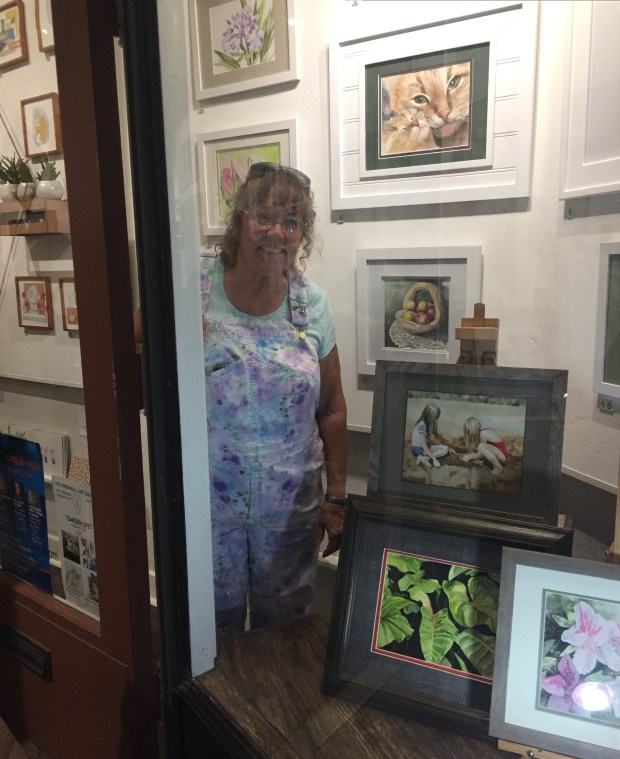 A First For Watercolorist Jo Sutt Featured In September At