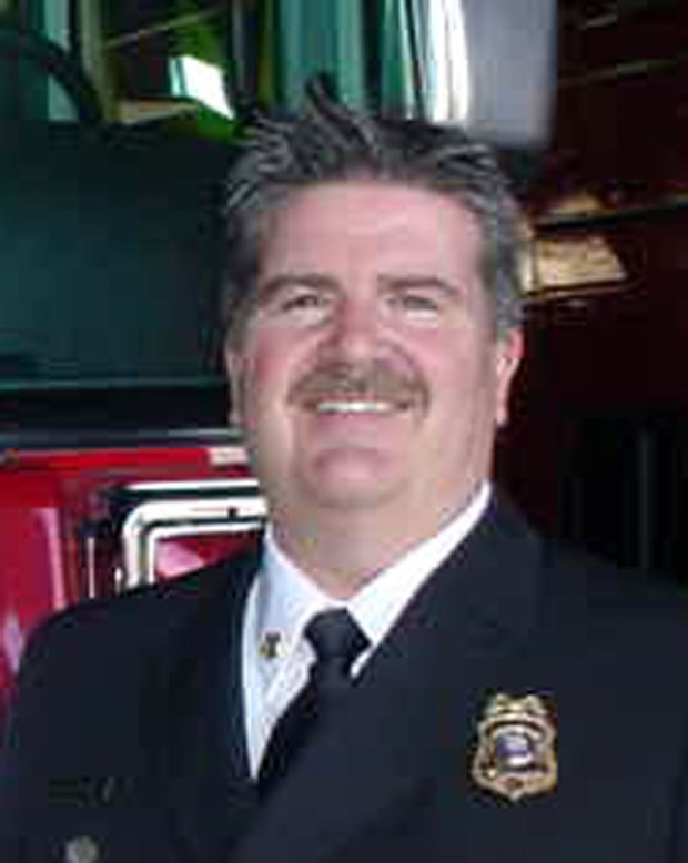 Manhattan Beach Fire Chief Robert Espinosa is retiring in April. File photo.