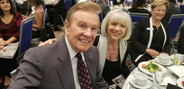 Master of Ceremonies Wink Martindale and his wife, Sandy. Photo: Tom Bray, SCNG