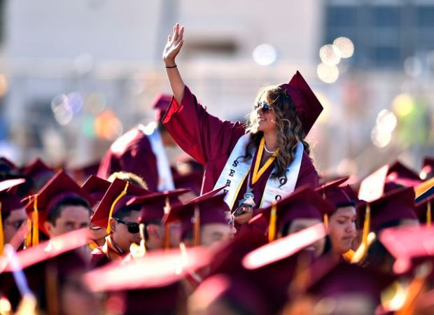 Graduation rates have increased steadily in California in recent years, now reaching an average of 83.2 percent for the class of 2016. (File photo by Scott Varley, Daily Breeze)