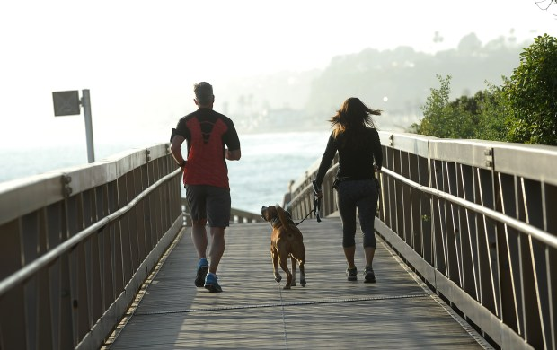 Active residents and visitors enjoy the San Clemente Pedestrian Beach Trail. (File Photo by Ana Venegas, Orange County Register/SCNG)