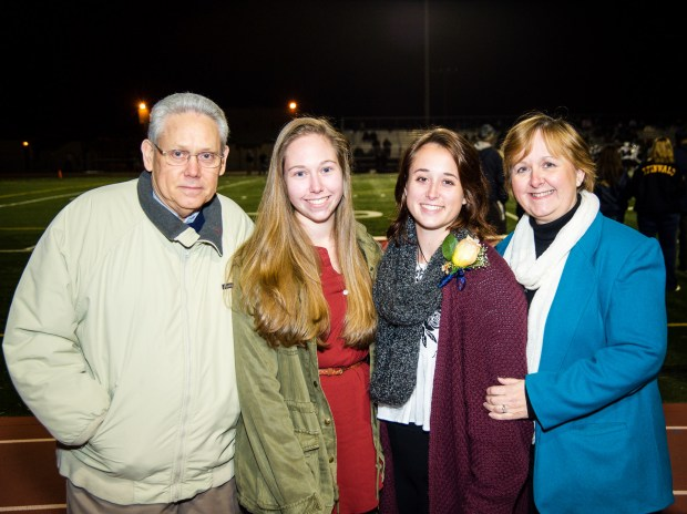 Jessica Weber, second from left, with her family. (Photo courtesy of Bonnie Masters-Weber,
