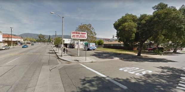 A person was shot to death late Thursday, Oct. 5, 2017, outside Last Drop Liquor at 2105 N. E St. in San Bernardino. (Google Street View)