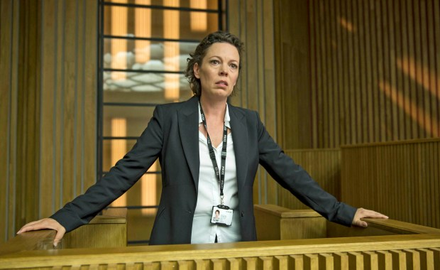 "Olivia Colman, seen here in ""Broadchurch,"" is expected to take on the role onQueen Elizabeth II in a third season of Netflix's ""The Crown."""