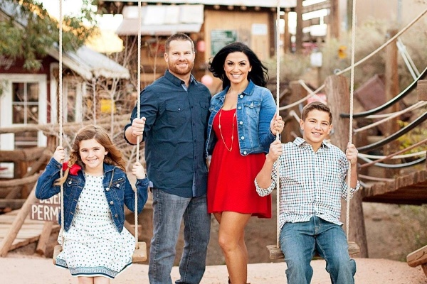 Jenny Parks of Lancaster was a mom and kindergarten teacher killed in the Las Vegas massacre. Her husband, Bobby, was hurt in the shooting. (Photo courtesy of GoFundMe)