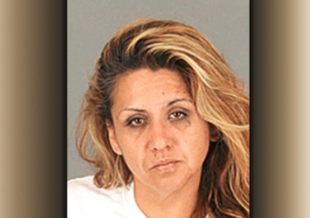 Laura Cardenas was arrested after allegedly leading police on a car chase. (Courtesy photo)