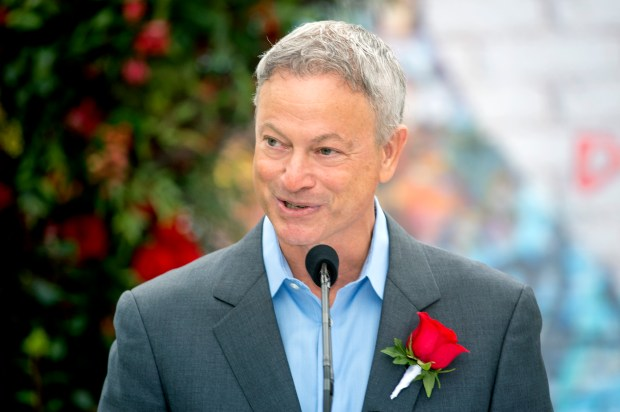 The Tournament of Roses has named actor and humanitarian Gary Sinise as the 2018 Grand Marshal at the Tournament House in Pasadena, Calif. October 30, 2017. (Photo by Leo Jarzomb, SGV Tribune/ SCNG)