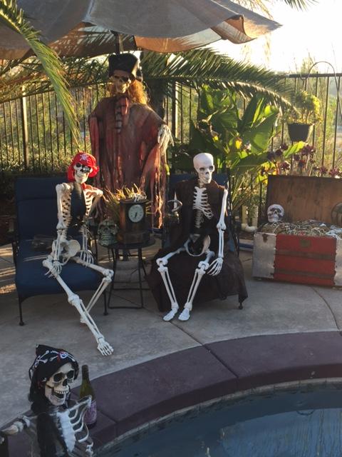 The Crowne Hill Halloween home Temecula boasts a pirate theme. (COURTESY SHAUNA ANTON)