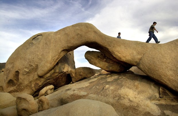 National parks, including Joshua Tree, are offering free admission on Veterans Day weekend, Nov. 11-12 . (File Photo by Silvia Flores, Riverside Press-Enerprise/SCNG)
