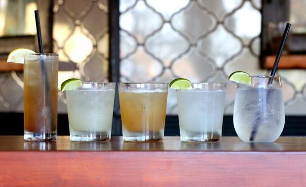Happy hour drinks at Salt & Ash are $2 off draft beer, $5 well drinks, $6 (chardonnay or Cabernet) $8 cocktails. (Courtesy Salt & Ash)