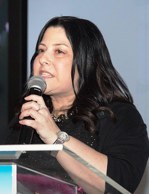 New Jersey resident Sarri Singer, daughter of New Jersey state Senator Bob Singer, talks about trauma after surviving a bus bombing in Jerusalem on June 11, 2003, and starting the nonprofit Strength to Strength to help attack survivors. (Courtesy photo)