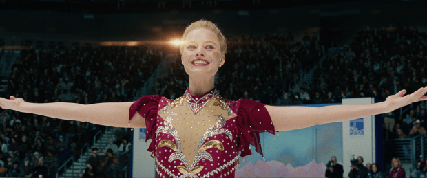 Tonya Harding (Margot Robbie) at the 1994 Olympics in I, TONYA, courtesy of NEON.tif