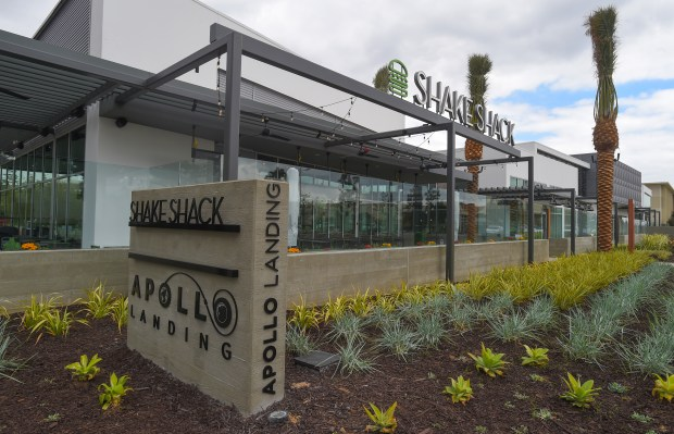 The South Bay's first Shake Shack restaurant at Apollo Landing in El Segundo on Wednesday, November 1, 2017. The store opens Sunday. (Photo by Scott Varley, Daily Breeze/SCNG)