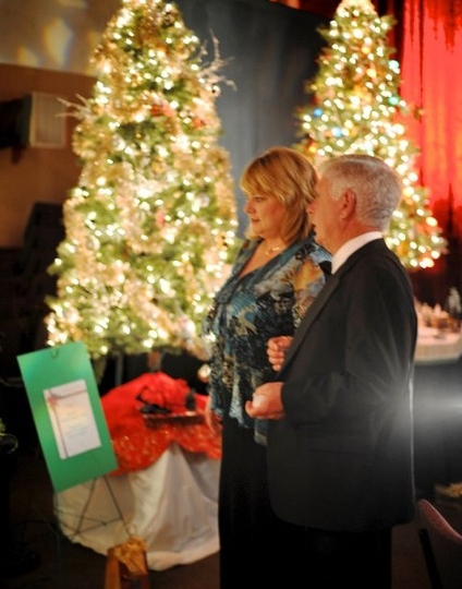 Karen and Dennis Hansberger at last year's Forest of Hope event. (Courtesy Photo)