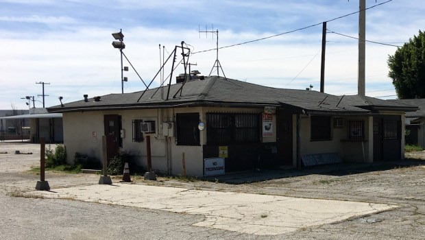 Pomona is taking steps leading to establishing an emergency shelter-service center for the city's homeless residents on property at 1400 E. Mission Blvd. (File Photo)