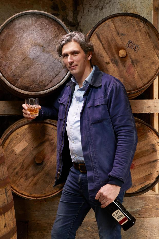 Alex Conyngham is the co-founder of a new distillery, Slane, on his family's ancient Irish estate. (Photo courtesy Slane)