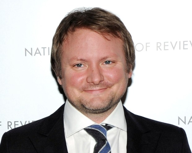 Screenwriter Rian Johnson attends the National Board of Review Awards gala at Cipriani 42nd St. on Tuesday Jan. 8, 2013 in New York. (Photo by Evan Agostini/Invision/AP)