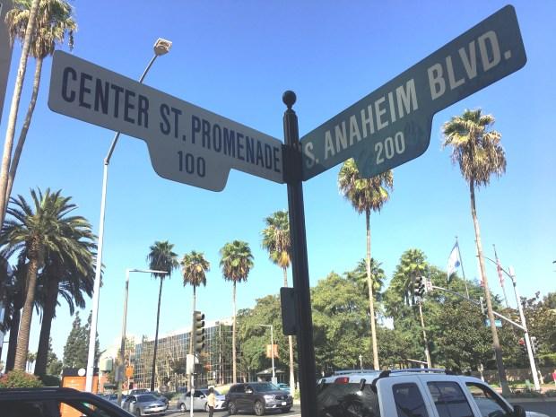 Downtown Anaheim is set to get a new crop of restaurants and retailers. (Nancy Luna, Orange County Register)