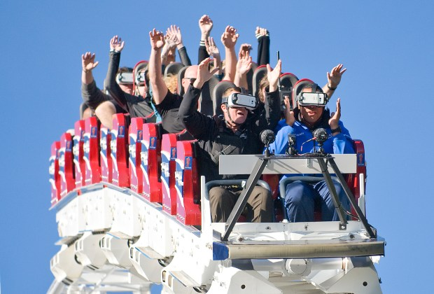 Six Flags Magic Mountain will open on a daily basis beginning 2018. (File photo by Nick Agro, Orange County Register/SCNG)
