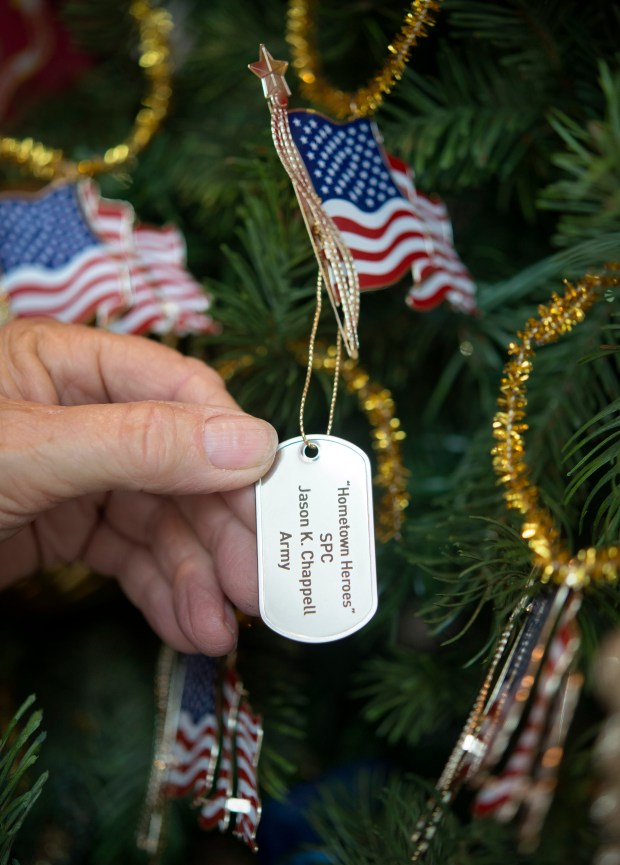 The Nixon Presidential Library & Museum will hold its annual Hometown Heroes Christmas Tree Dedication on Dec. 3. (File photo by Cindy Yamanaka, Orange County Register/SCNG)