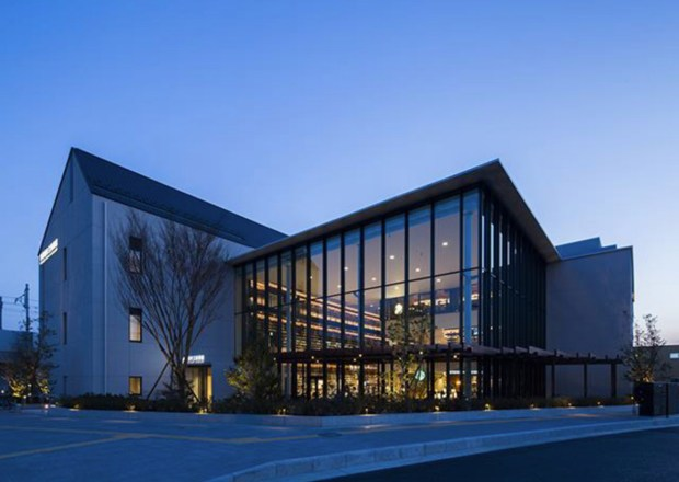 Tagajo Public Library in Japan. (Courtesy Library Systems Services)