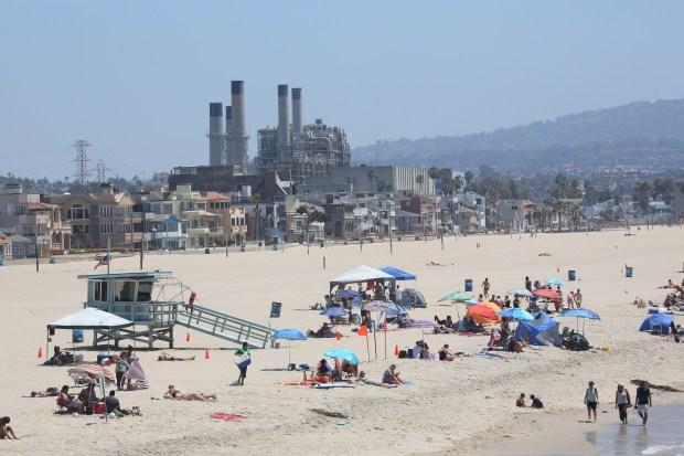 File photo of AES power plant in Redondo Beach Chuck Bennett 7/27/16
