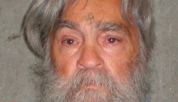 A photo provided by the California Department of Corrections shows 77-year-old serial killer Charles Manson in 2012. (AP Photos/California Department of Corrections)