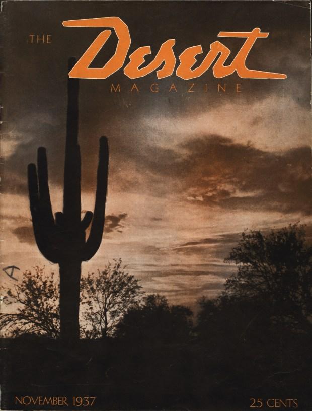 Desert Magazine - 1st issue