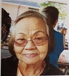 Albina Franco Soriano, also known as Elvie, has been missing since Nov. 13. She is 85 years old and has Alzheimer's disease. Soriano was last seen in the area of Ball Road and Gilbert Avenue in Anaheim. (Photo courtesy of the Anaheim Police Department)