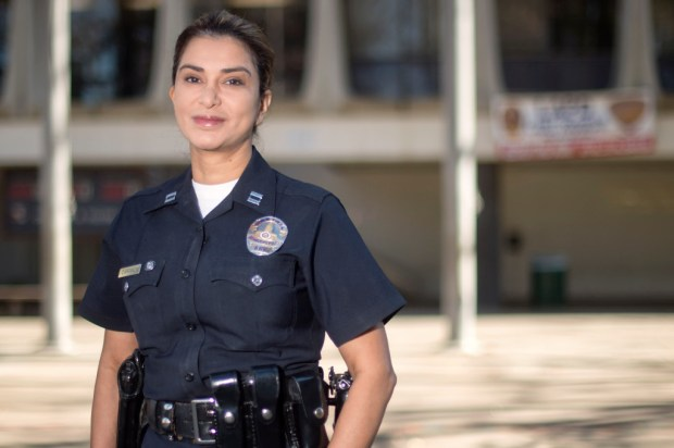 Los Angeles Police Van Nuys Area Commanding Officer Capt. Lillian L. Carranza. (Photo by Hans Gutknecht, Los Angeles Daily News/SCNG)