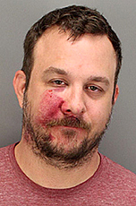Riverside County Sheriff's officials say Ross Berman was intoxicated when he drove his vehicle into a fire hydrant which caused a sinkhole that swallowed up his car in Palm Desert. (Courtesy Riverside County Sheriff's Department)