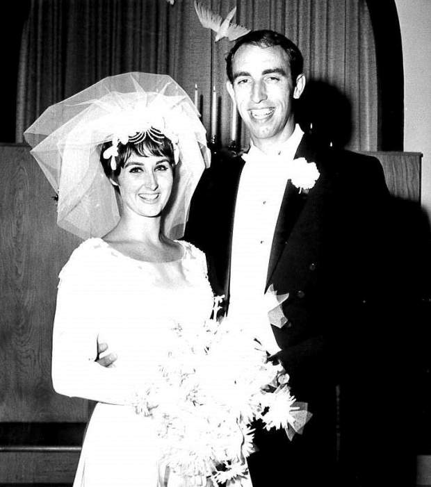 Linda Rosalie and Perry Fred King, of Yucaipa, were married on Aug. 19, 1967 at Church of the Foursquare Gospel in Vancouver, Wash., where Linda grew up. (Photo courtesy of Linda King)