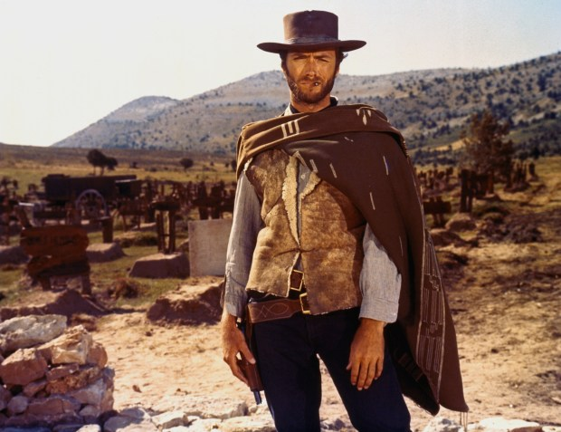 "Clint Eastwood in ""The Good, the Bad and the Ugly."""
