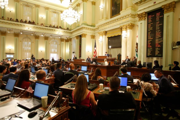 The California Assembly. Photo by Steve Yeater for CALmatters
