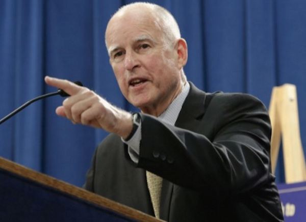 Gov. Jerry Brown. FILE PHOTO