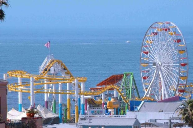 Pacific Park in Santa Monica is open all day Dec. 25. Photo courtesy Pacific Park