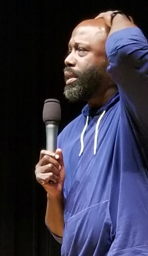 Bruce Jingles performs at the Bellflower Comedy Fest, Thursday, Dec. 23 at the Bellflower Civic Auditorium. Photo: Tom Bray/SCNG