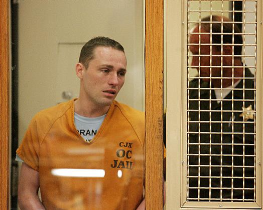 Skylar Deleon, seen here in this file photo, was convicted of three counts of first-degree murder in 2008. (OCR File)