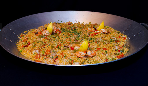 The 6,500 square foot Tapas restaurant will also offer happy hour and brunch. The menu features paella and other authentic Spanish cuisine. (Courtesy Tapas)