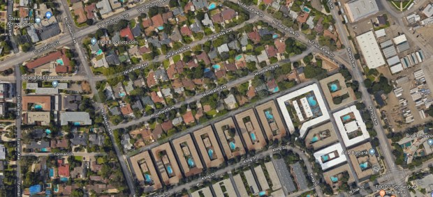 An LA transient arrested Thursday, Dec. 14, 2017, admitted stealing two packages from a home on the 4400 block of Woodland Avenue in Burbank, police said. (Google Maps)