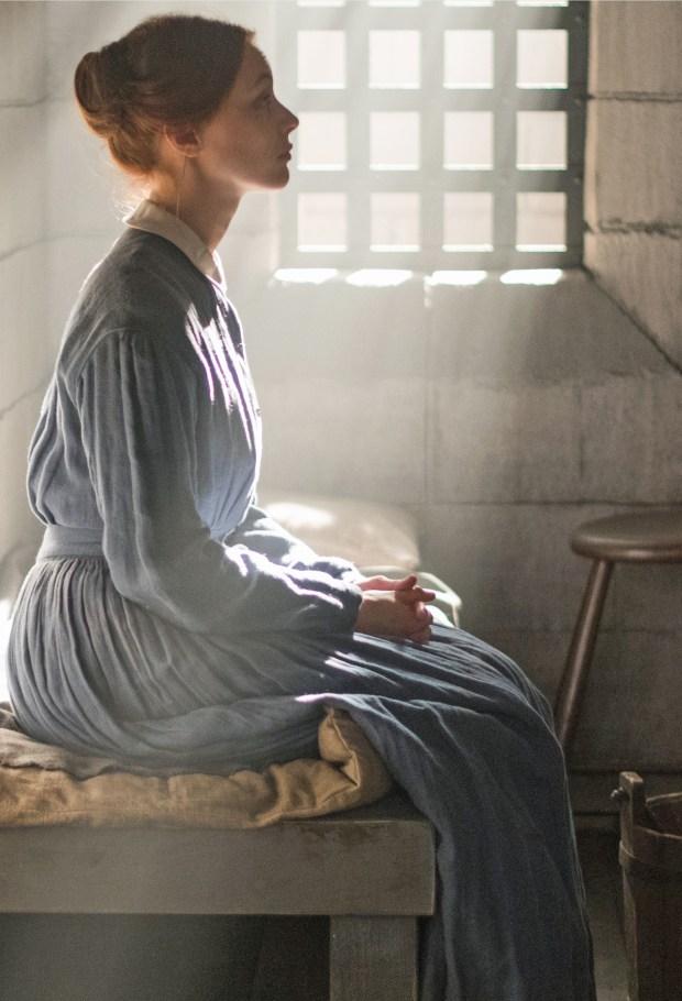 "Sarah Gadon in Netflix's ""Alias Grace."""
