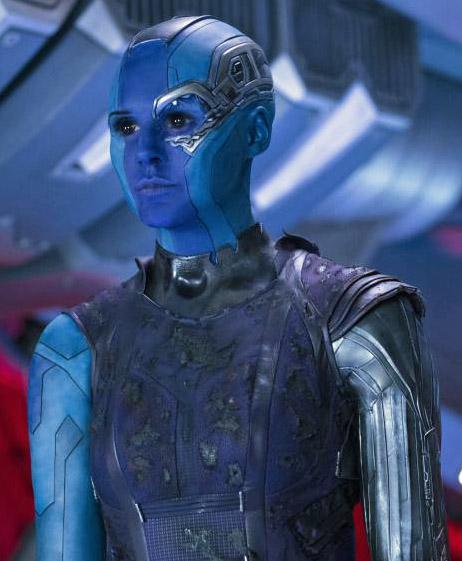 Karen Gillan as Nebula.