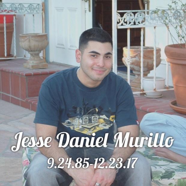 Jesse Murillo (Photo courtesy Tammy Murillo)