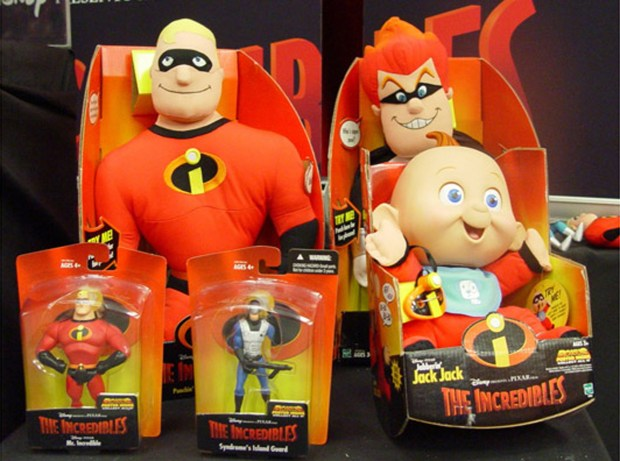 "Expect to see more plush like these characters from ""The Incredibles"" as the Incredicoaster replaces California Screamin' at Disney California Adventure, and the Pixar Pier theming takes place (AP Photo/Disney)"