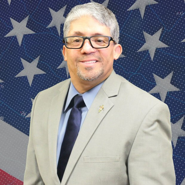 Norman Quintero, Democratic candidate in the 42nd Congressional District.
