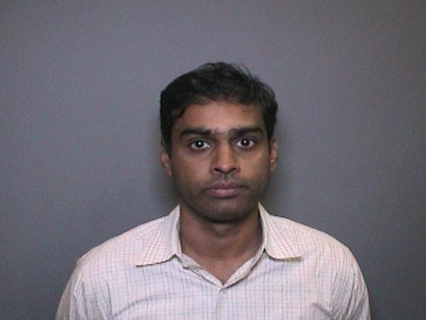 Ranjeet Paladugu booking photo. Courtesy of the Orange County District Attorney's Office.