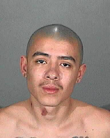 Louis Vasquez of La Puente was sentenced to 21 years to life in prison for a stabbing attack that injured two men at a Covina strip mall in 2015. (Photo by Los Angeles County Sheriff's Department)
