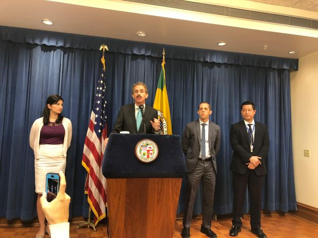 L.A. City Attorney Mike Feuer details the city's lawsuit against Uber over the ride-hailing company's alleged attempt to cover-up a 2016 data breach.