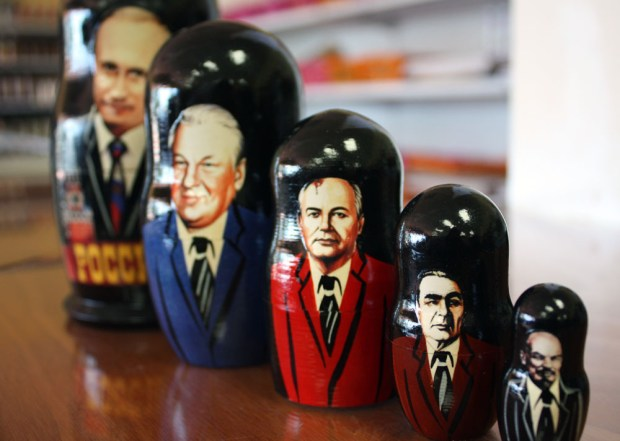 I will refuse to meet with any Russian envoys, even if they bring me cute nesting dolls. Photo: NIYAZ PIRANI THE ORANGE COUNTY REGISTER